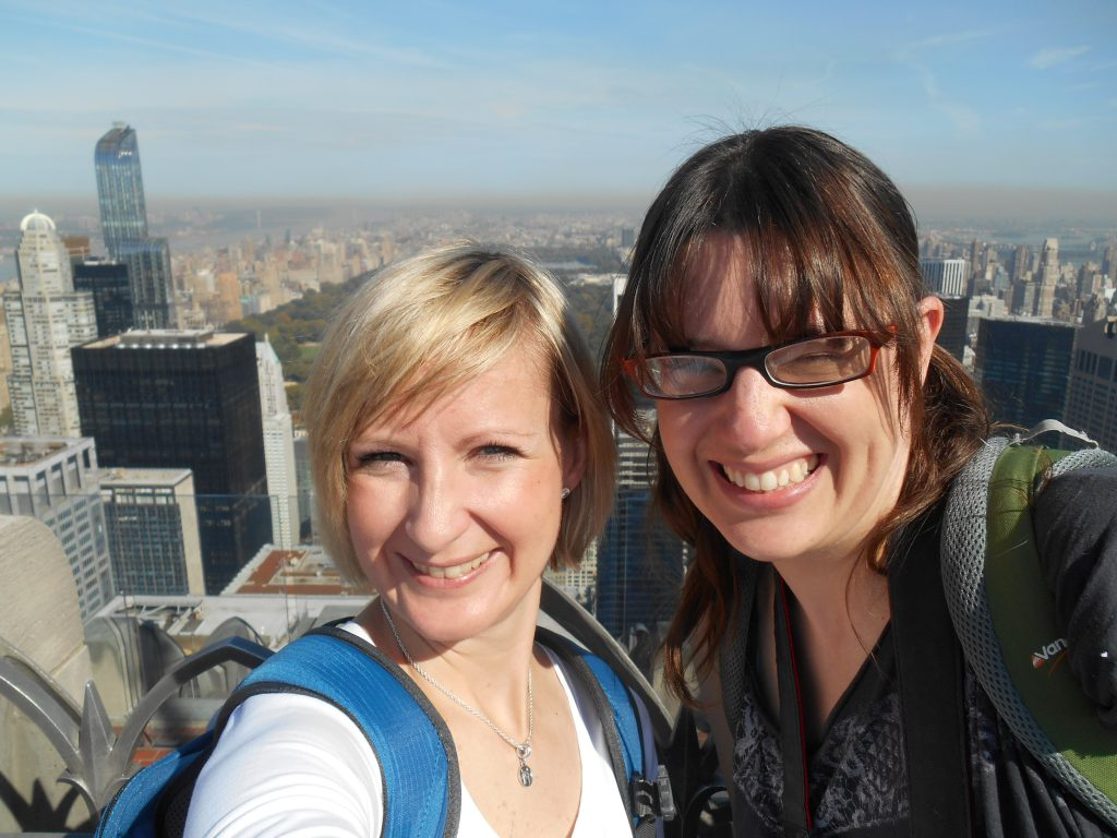 Up the Rockefeller Centre