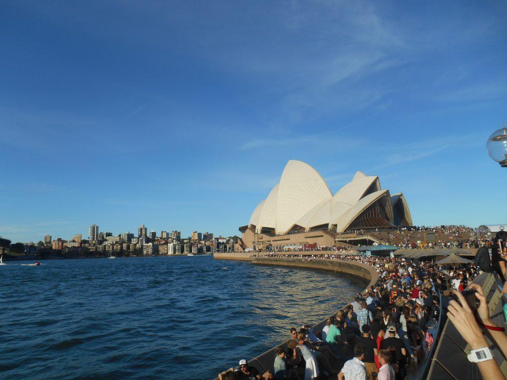 New Year's Eve in Sydney, Australia