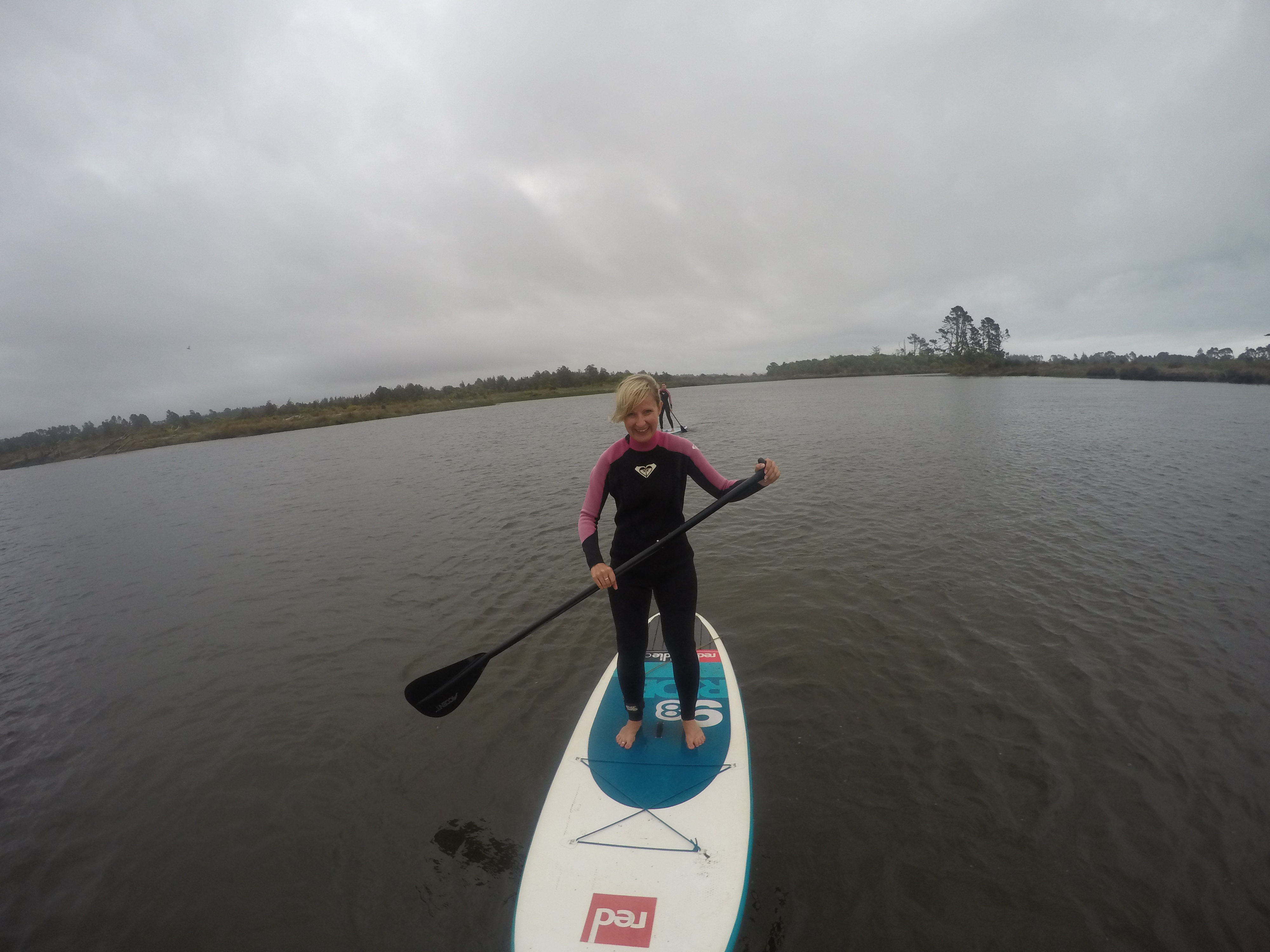 Me paddle boarding!