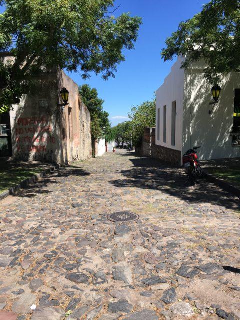 Tangoing to Colonia del Sacramento, Uruguay