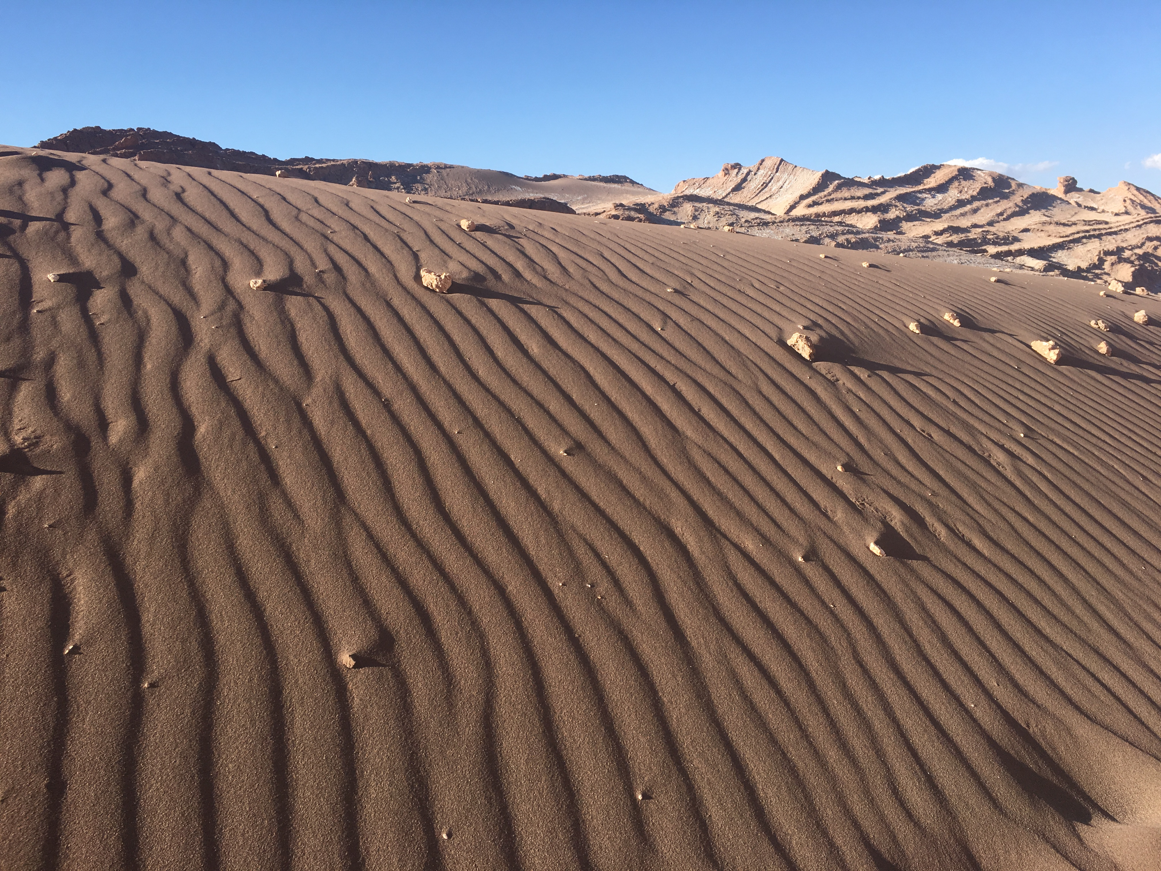 Driest Place on the Earth - Valley of the Moon, Chile