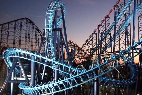 Blackpool Pleasure Beach (and other places I'd like to visit)