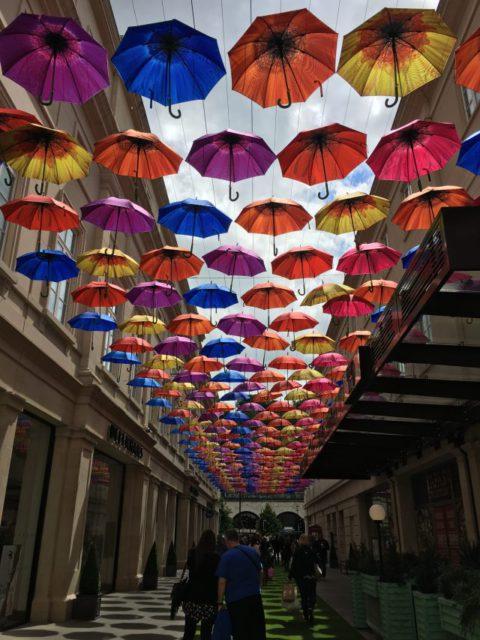 Art installation in Bath