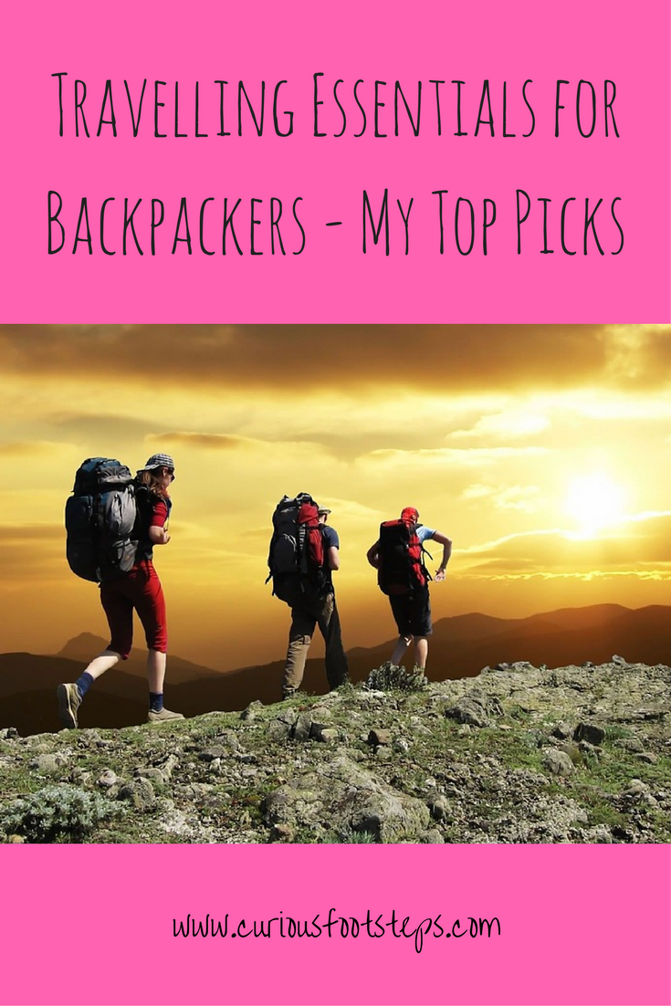 Travelling Essentials for Backpackers