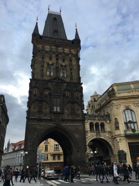 A city break in Prague
